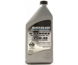 25W40 Synthetic Blend Marine Engine Oil